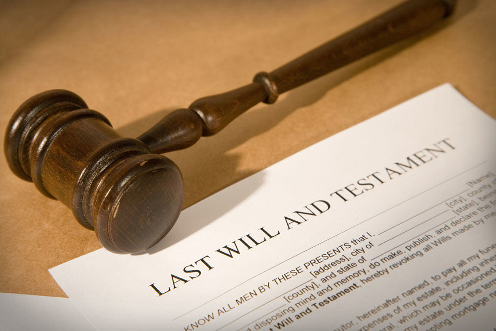 Wills and Probate - Writing a Will