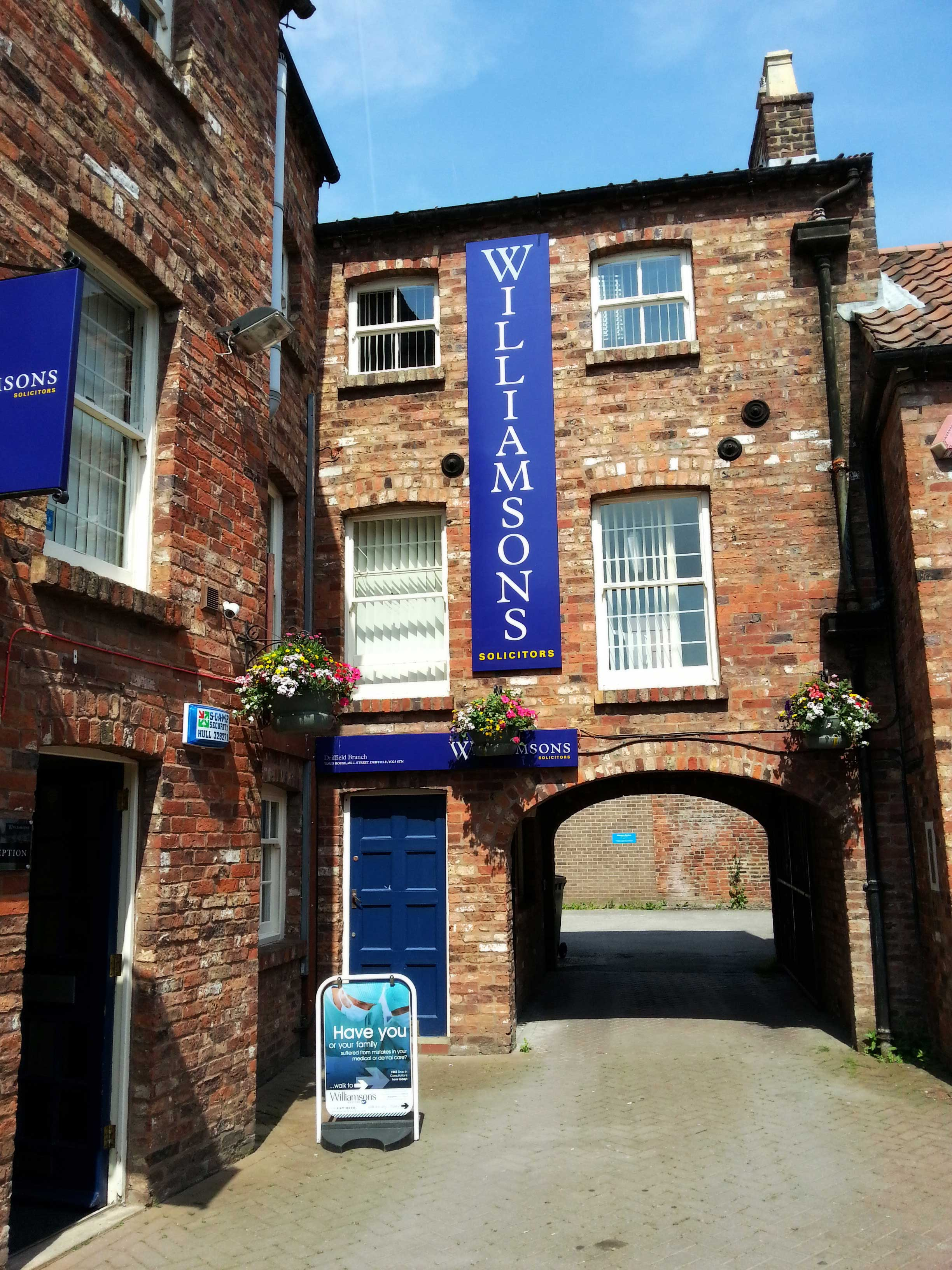 Williamsons Solicitors in Driffield
